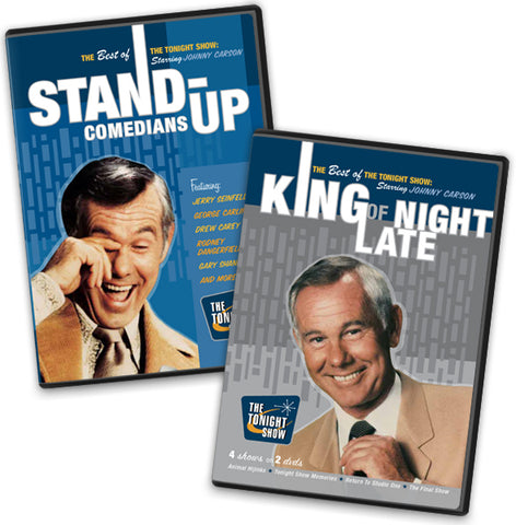 4 DVD Set - King of Late Night and Stand Up Comedians - Clearance