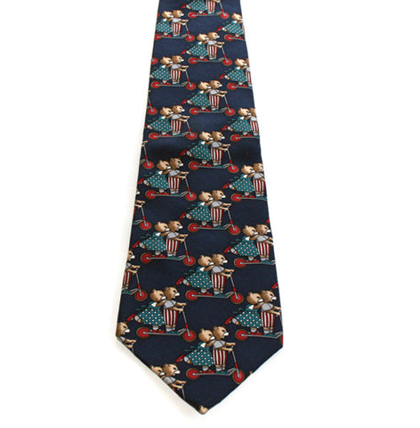Johnny Carson Apparel Tie - Bears (Pre-Owned) - 014