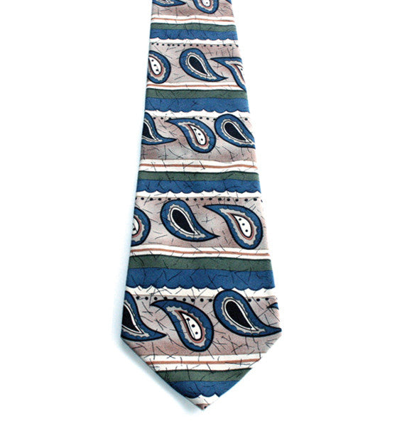 Johnny Carson Apparel Tie - Shapes (Pre-Owned) - 017