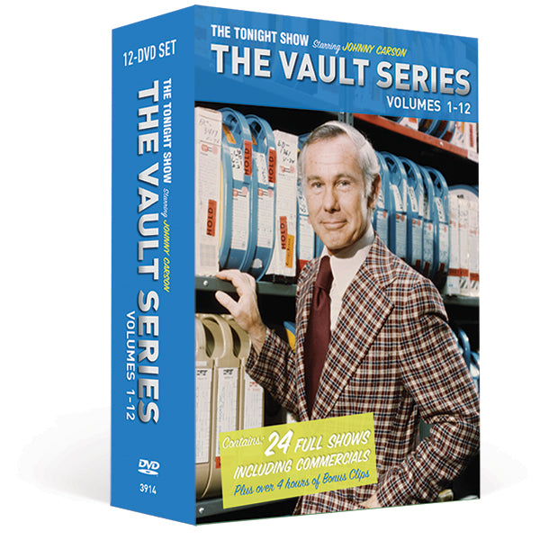 The Vault Series - 12 Volume DVD Collection - As Is Condition (Clearance)
