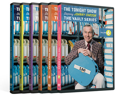 The Vault Series Volume 1-6 DVD Collection (Single DVDs)