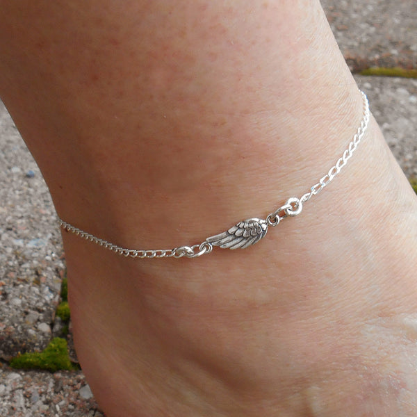 Soar Anklet - By E Artisan Jewelry