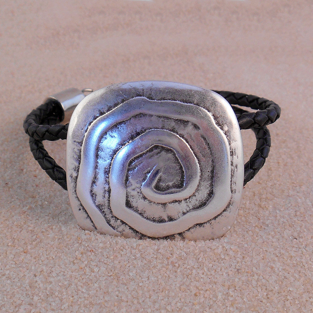 Meandering Bracelet - By E Artisan Jewelry