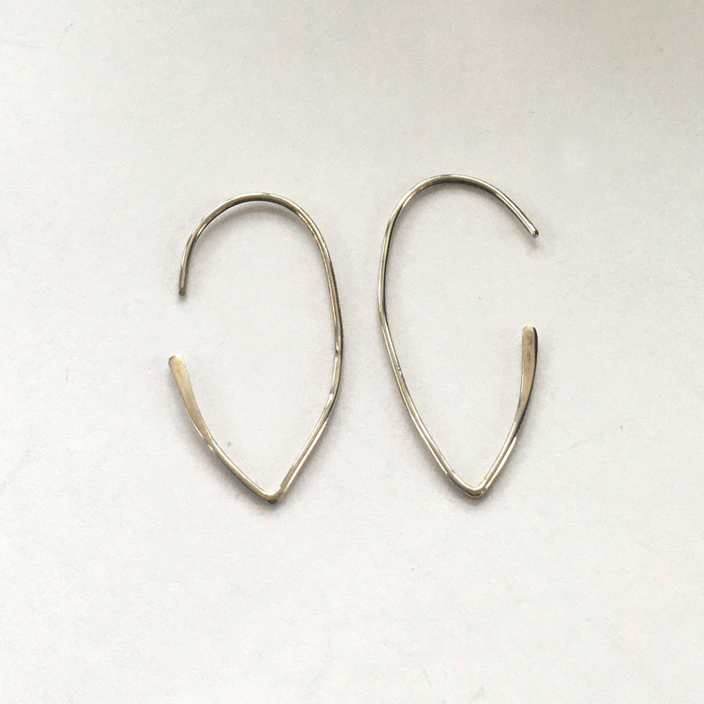 Wire Petal Earrings