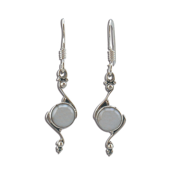 Sterling Silver and White Pearls - Pearls of Wisdom Earrings - By E Artisan Jewelry