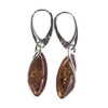 Ambra Earrings - Amber Earrings - By E Artisan Jewelry