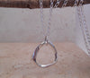 Sterling Silver Mobius Necklace - By E Artisan Jewelry