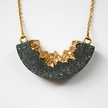 Bingara Necklace - Cement Jewelry - Metropolitan Collection - By E Artisan Jewelry