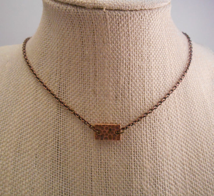 Minimalist Copper Necklace