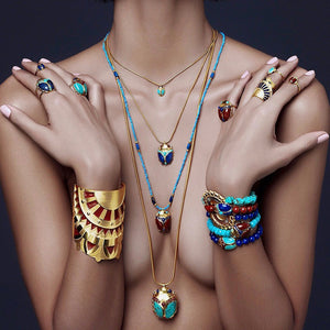 sustainable fine jewellery amanda marcucci egypt collection