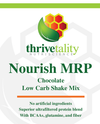 NOURISH MRP Low Carb Meal Replacement Shake