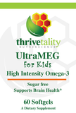 UltraMEG Omega-3 FRUIT GUSHER for Kids