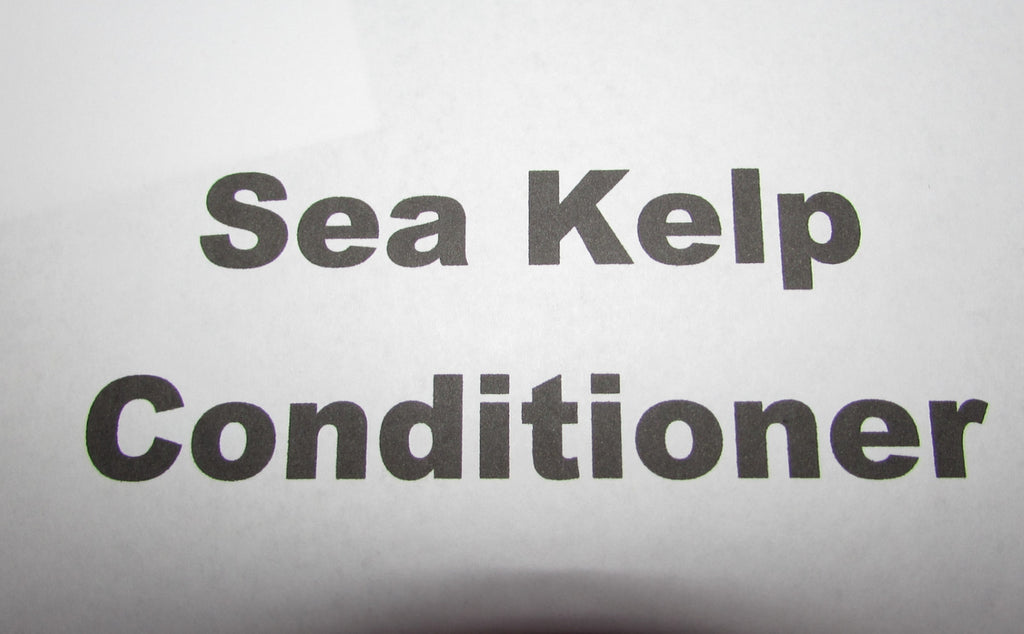Sea Kelp Conditioner
