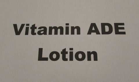 Vitamin ADE Lotion