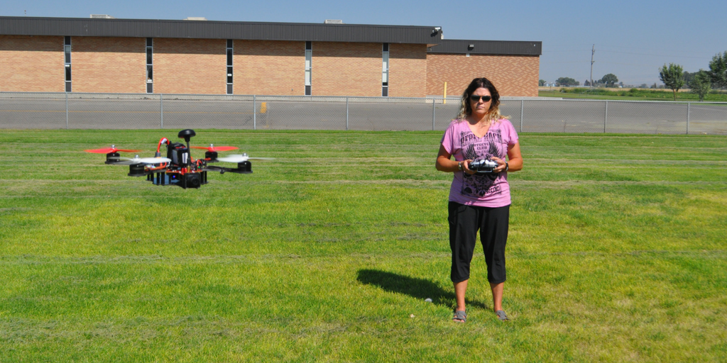 Brandi Milliron: My Journey to Discover Drones
