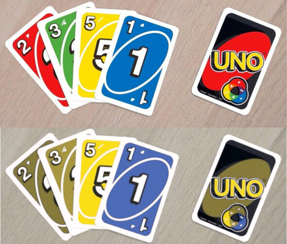 UNO with ColorADD symbols