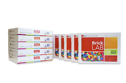BrickLAB BrickPACK-PCS edventures.com