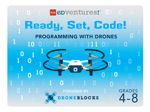Ready, Set, Code! Programming with Drones-PCS edventures.com