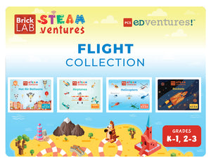 BrickLAB STEAMventures: Flight Collection-PCS edventures.com
