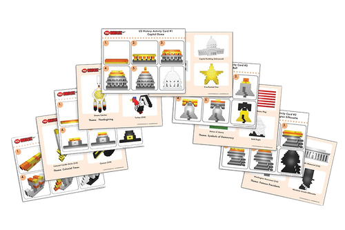 BrickLAB Activity Cards-PCS edventures.com