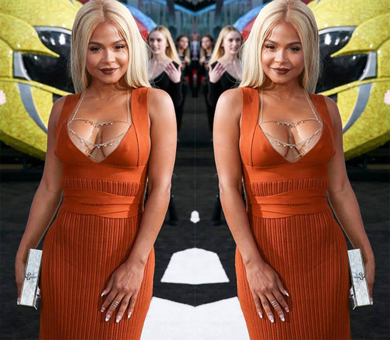 Christina Milian wears Glamrocks