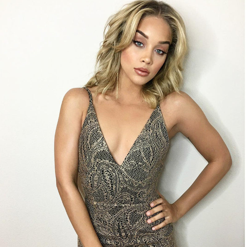 Jasmine Sanders wears Glamrocks twice in a week!