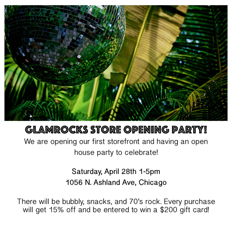Glamrocks is Opening it's First Storefront!