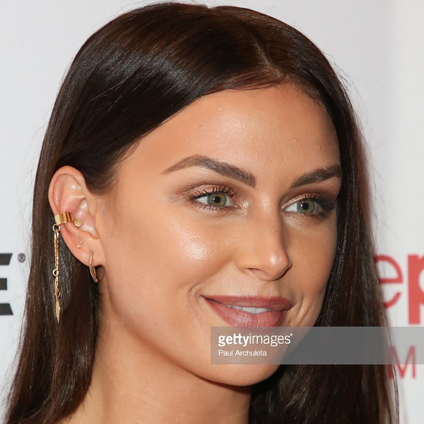 Lala Kent at the Row premiere in Glamrocks earrings