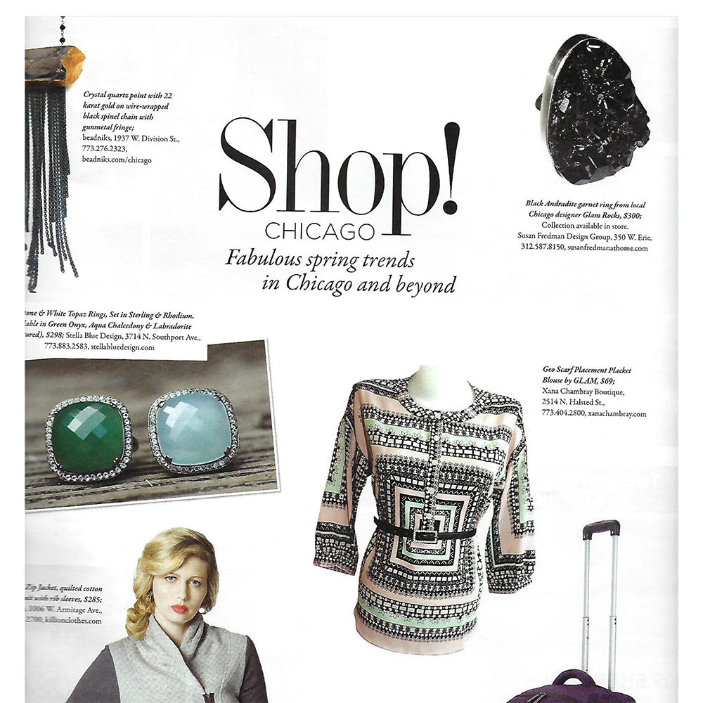 CS Magazine Shop! Chicago featuring Glamrocks ring