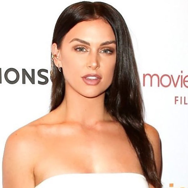 Lala Kent at the Row premiere in Glamrocks Jewelry
