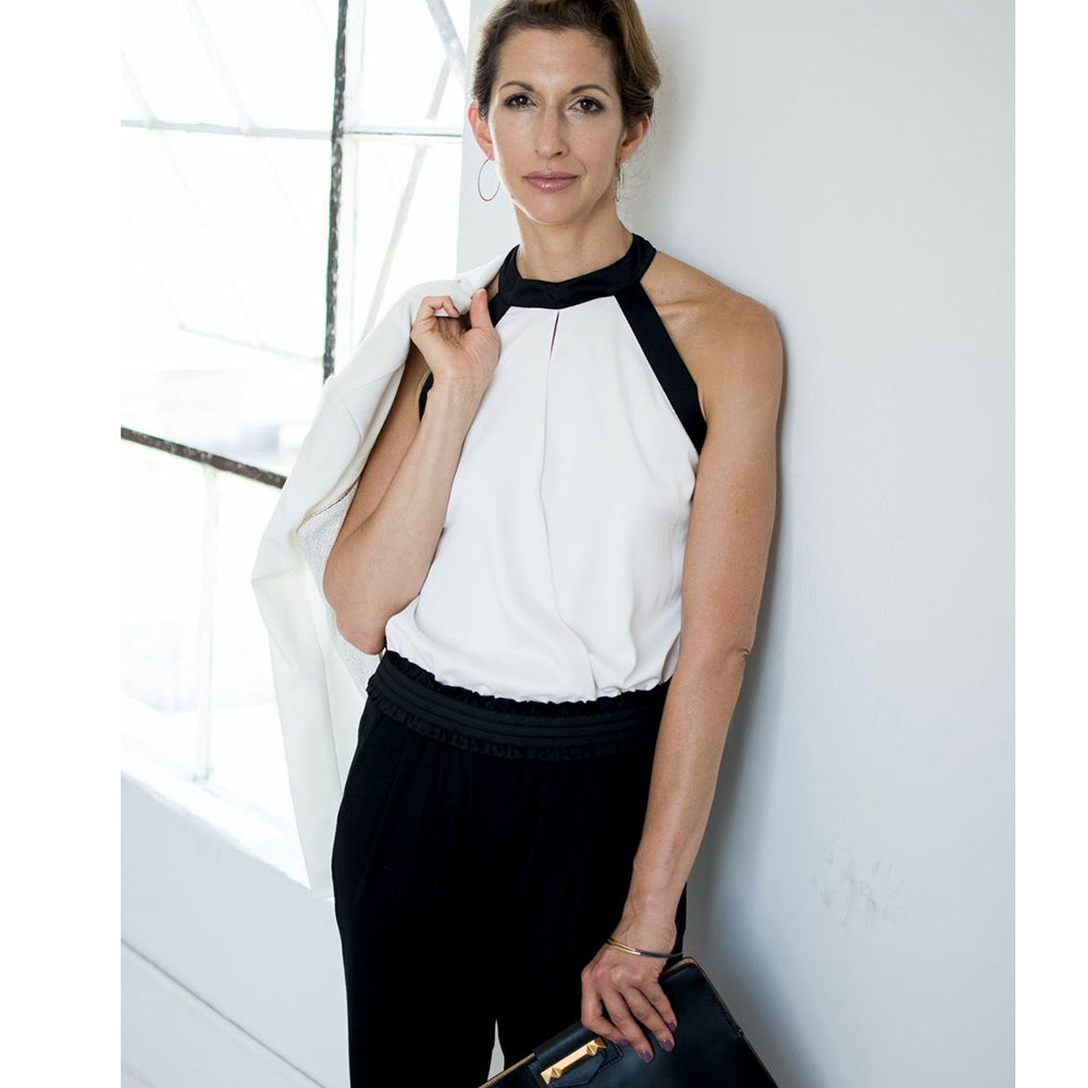 Alysia Reiner in Origin Mag wearing Glamrocks
