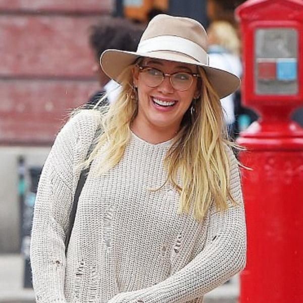 Hilary Duff wearing Glamrocks Earrings