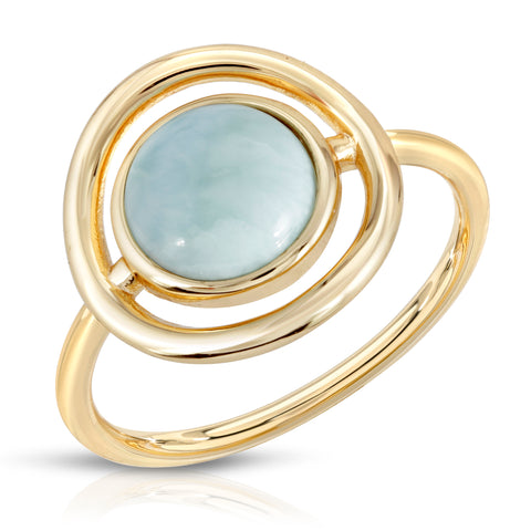 Delano Ring - Green Quartz