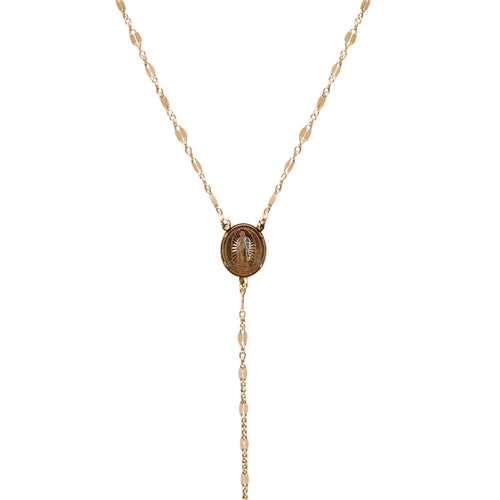 Lady of Guadalupe Lariat Necklace