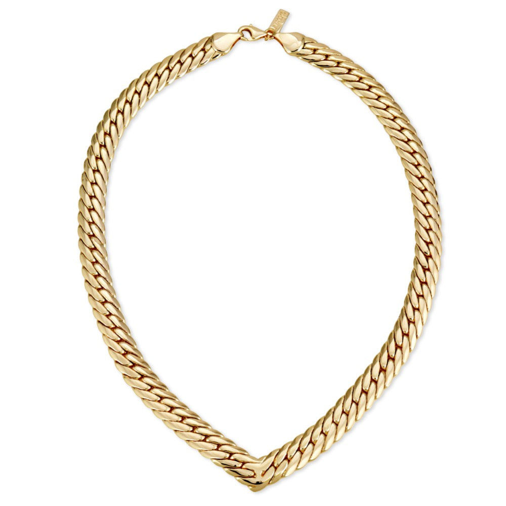 Chevron Statement Collar