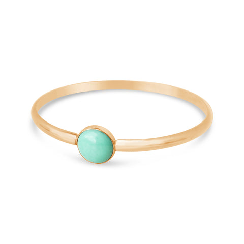 Ray of Light Double Cuff- Aqua