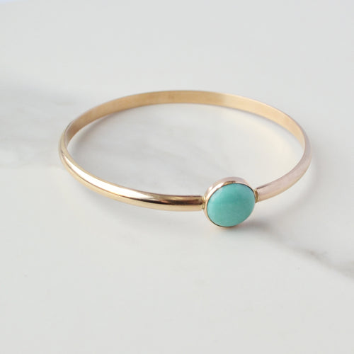 Turquoise Gemstone Bangle