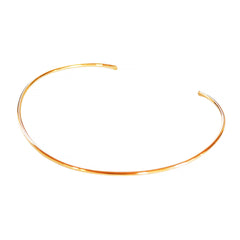 Simple Open Choker, Gold Filled and Sterling Silver