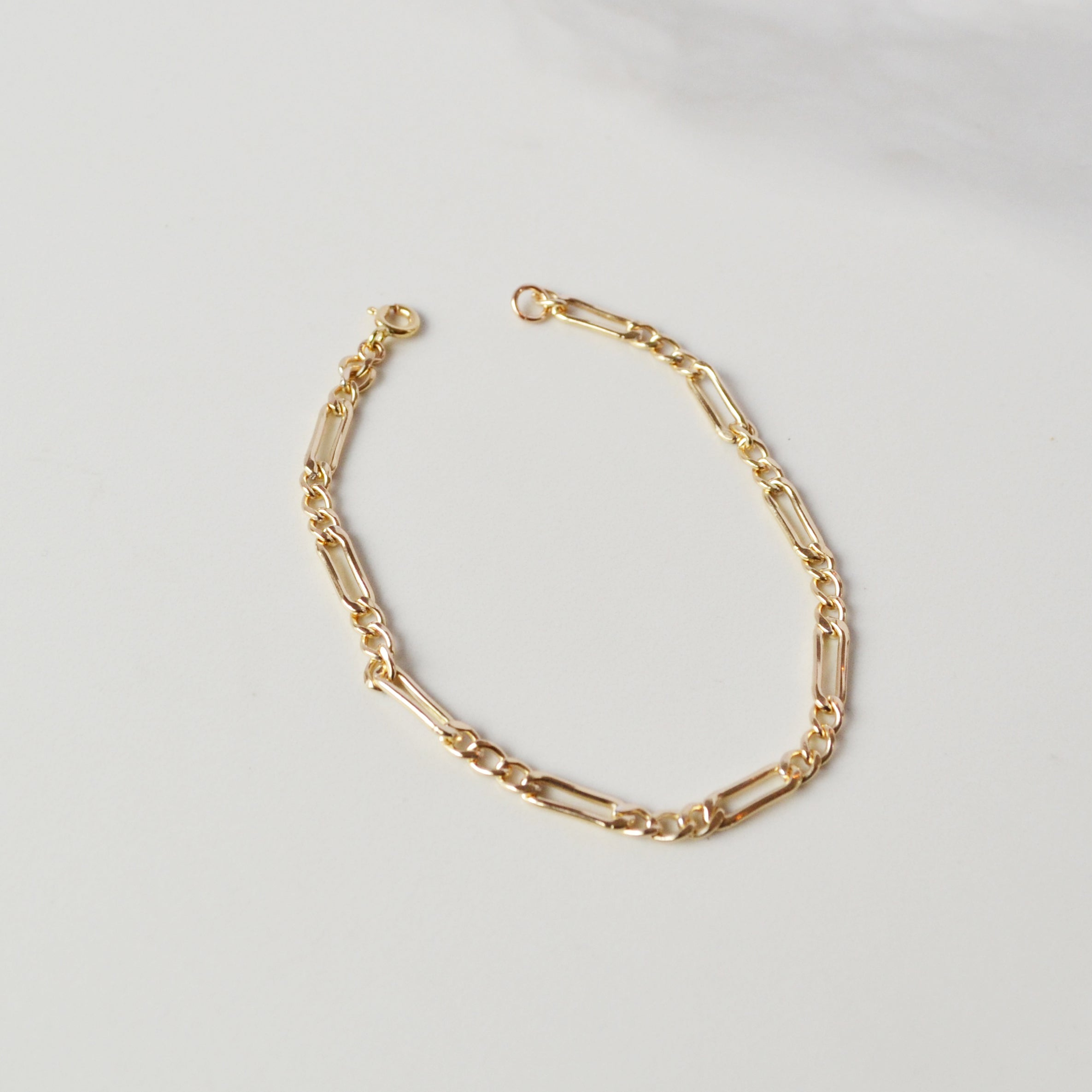 Stallion Chain Bracelet, Gold or Silver