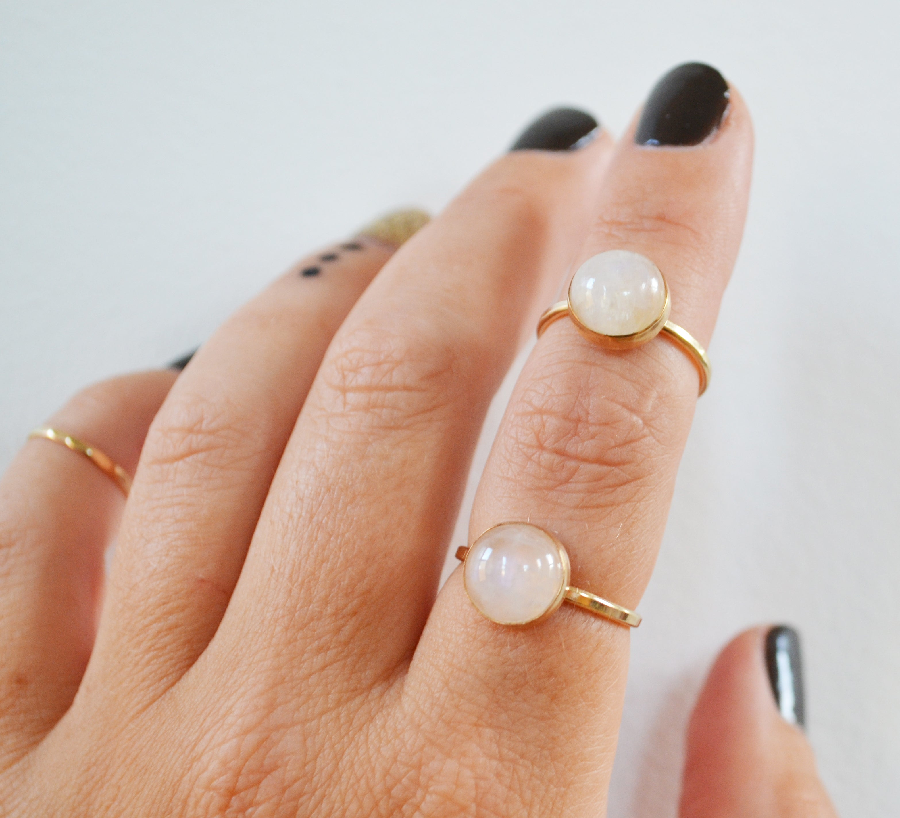 Moonstone Ring- As Seen in Health Magazine!