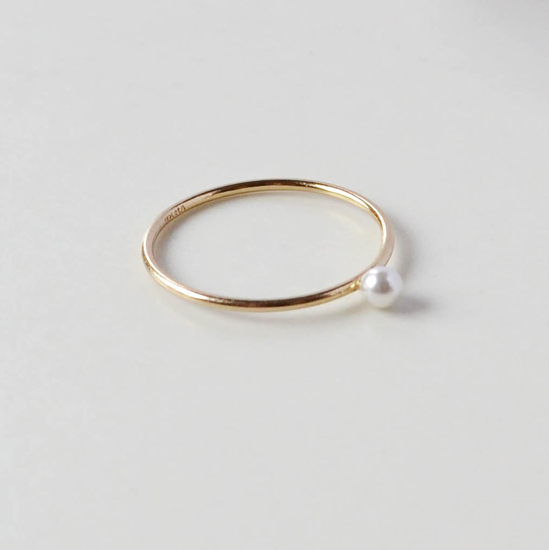 Tiny Pearl Ring