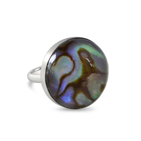 Eclipse Ring- Larimar