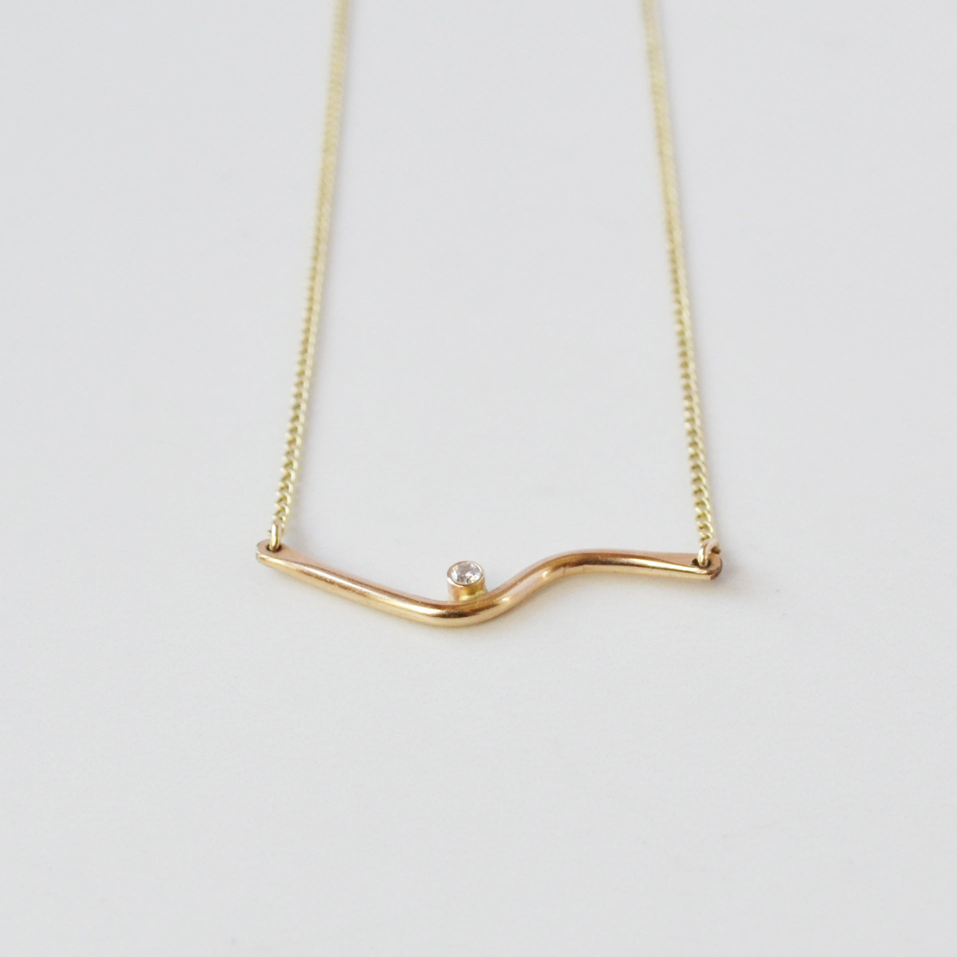 Easy Rider Necklace Gold or Silver