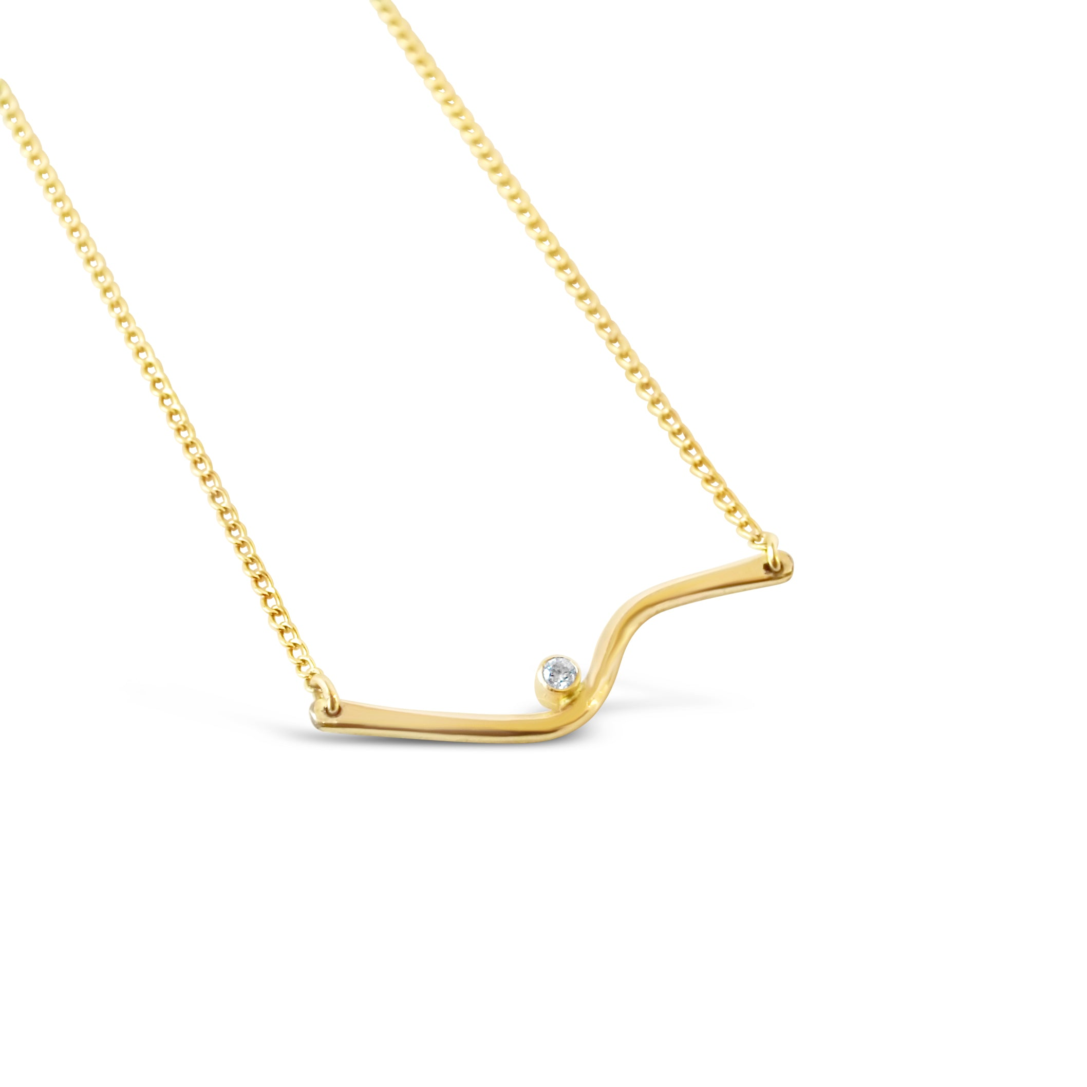 Easy Rider Necklace- Gold or Silver
