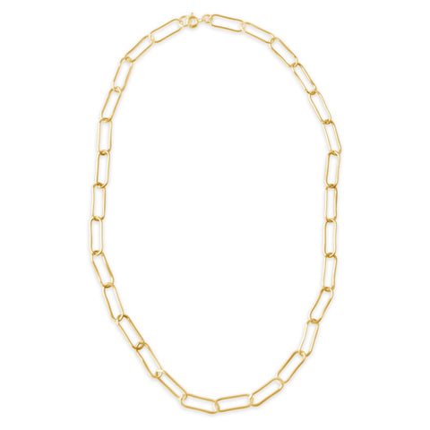 CZ Chevron Statement Necklace- Clear