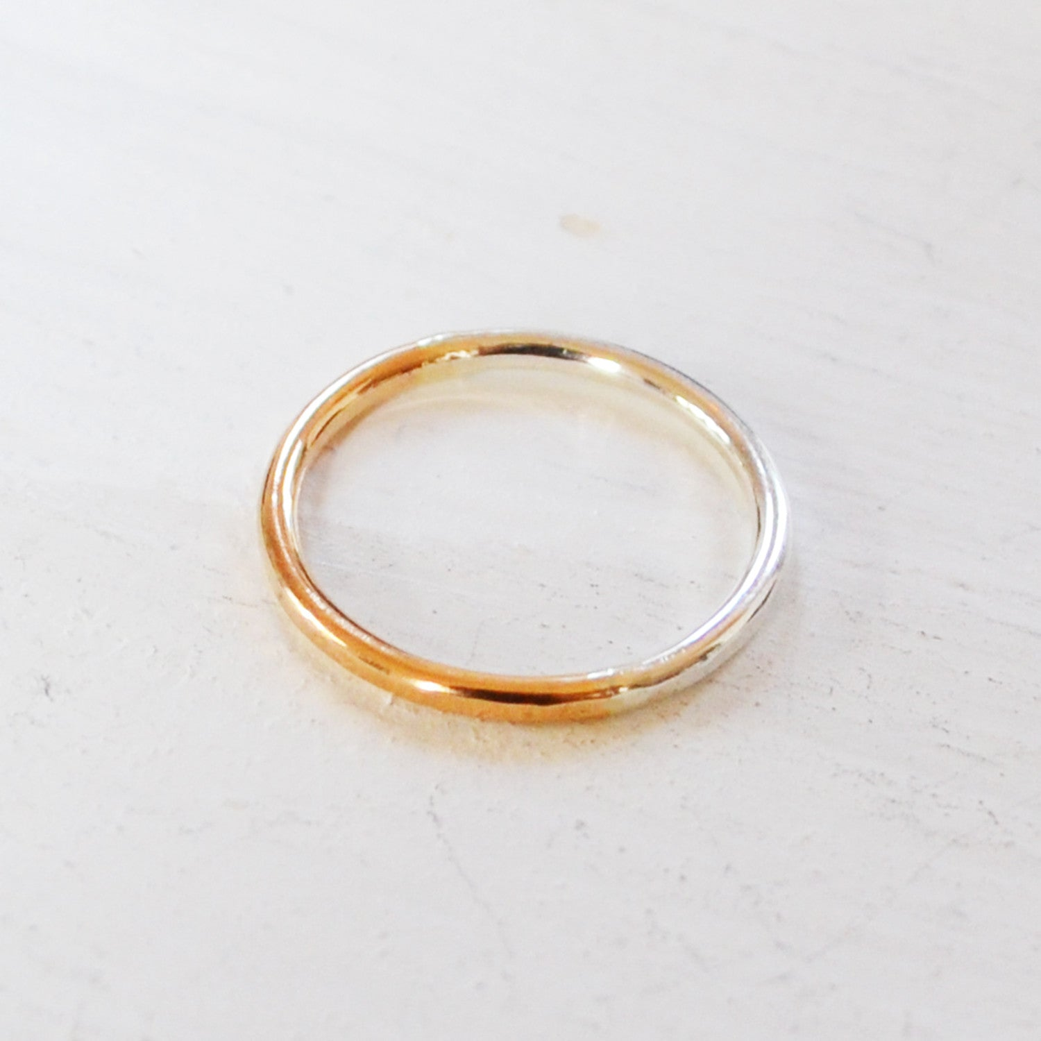 Crescent Ring, 14K Gold