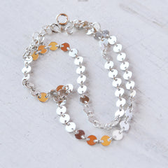 Disco Chain Choker, Gold, Rose Gold, or Silver
