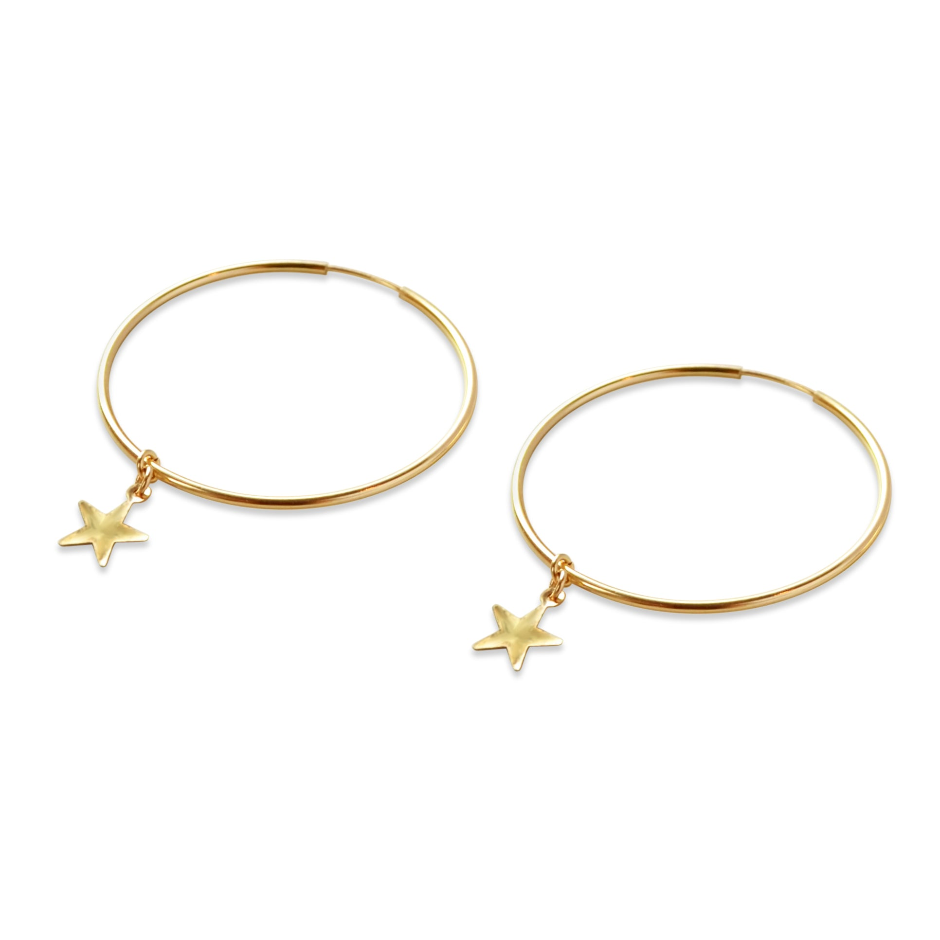 Cuppajyo Starlight Hoop Earrings
