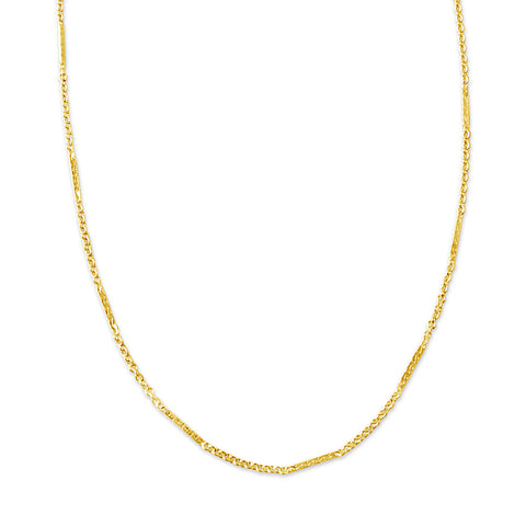 Bound and Down Bolo Necklace, White Topaz, Gold or Silver