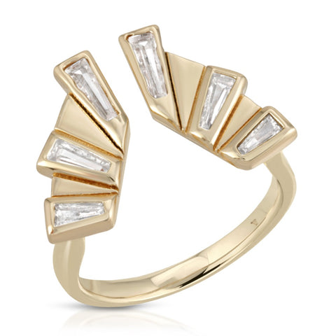 Lasso Ring in CZ, Gold or Silver